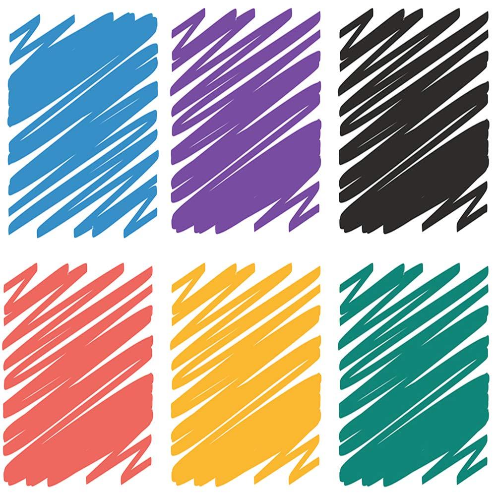 Quartet Dry Erase Markers, Whiteboard Markers, Fine Point, Mini, Magnetic, ReWritables, Classic Colors, 6 Pack (51-659312Q) by Quartet (Image #2)