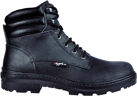 Cofra 25550-000.W36 Chaussures de s/écurit/éHull BIS S3 SRC Taille 36 noir