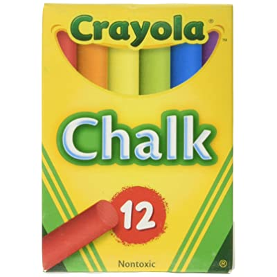 Crayola Chalk, Assorted Colors, 3 X 12 Sticks Per Box (36 Chalks): Toys & Games