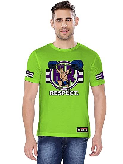 the best attitude 24af2 a0781 The Souled Store Men s and Women s WWE John Cena Cenation Respect Printed  Cotton T-Shirt