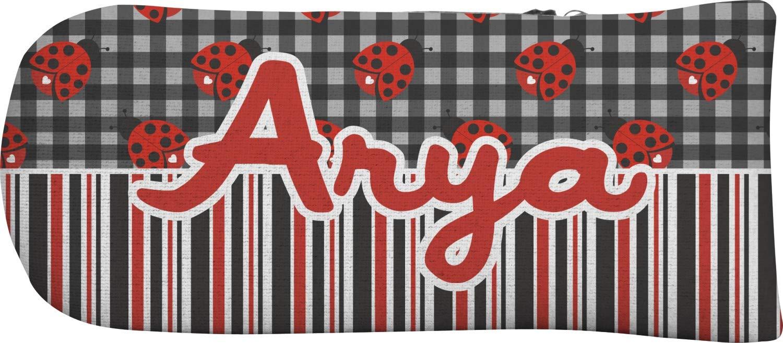 Ladybugs &ストライプパターカバー( Personalized ) B013WYVVQ2