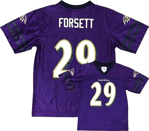 Amazon.com: Justin Forsett Baltimore Ravens Purple Home Player ...