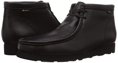 Wallabee Boot GTX: Black Leather