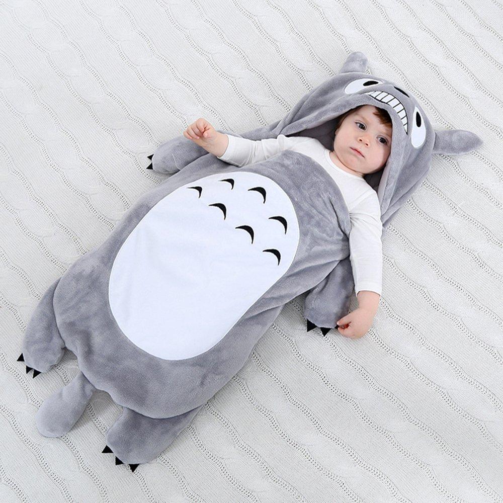 Amooy DiZi Gigoteuse de Bébé - Sac de Couchage Couverture Dessin Totoro en Coton  Doux Nid d ange  Amazon.fr  Bébés   Puériculture 5e805f08216