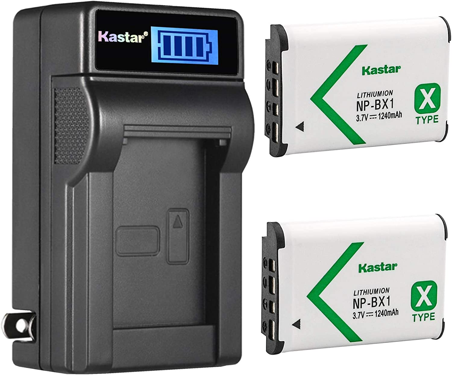 Battery + Charger for Sony HDR CX240