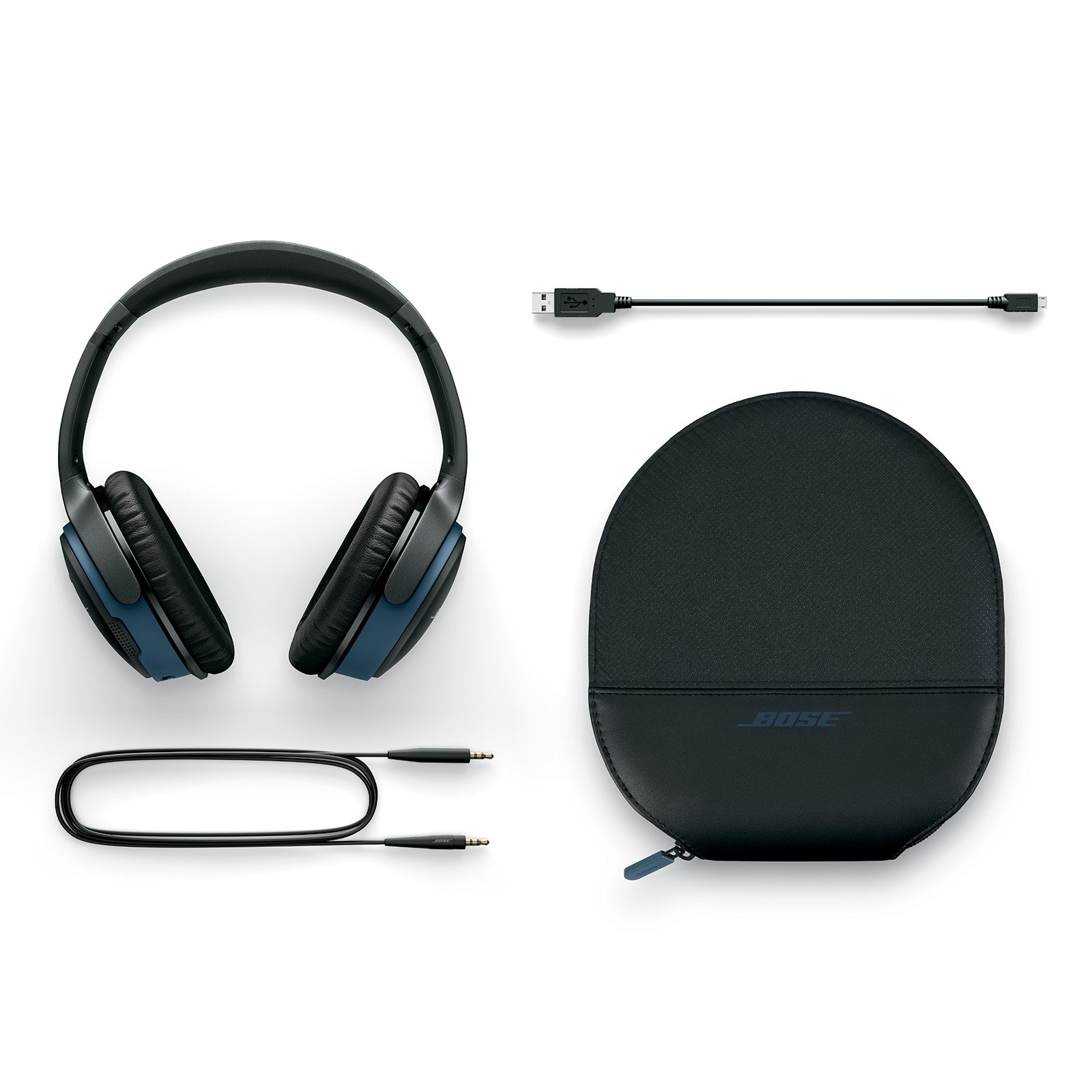 bose soundlink around ear wireless headphones ii black. Black Bedroom Furniture Sets. Home Design Ideas