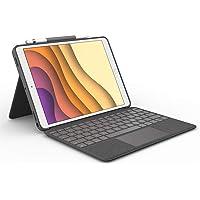Logitech Combo Touch para iPad Air 3a generación y iPad Pro 10.5 pulgadas, funda con Teclado Retroiluminado, con…