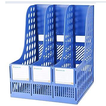 File Shelf Zddab Aktenhalter 3 Spalte Buro Aufbewahrungsbox A4