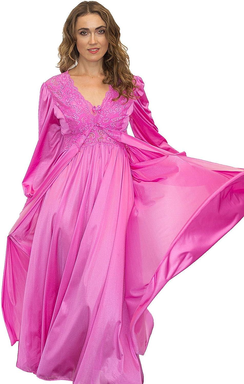 Shadowline Silhouette Gown and Peignoir Set (51737)