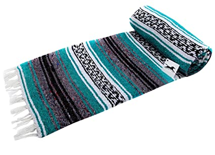 Amazon.com: ESOEM Mexican Blanket, Yoga Blanket Soft Throw ...