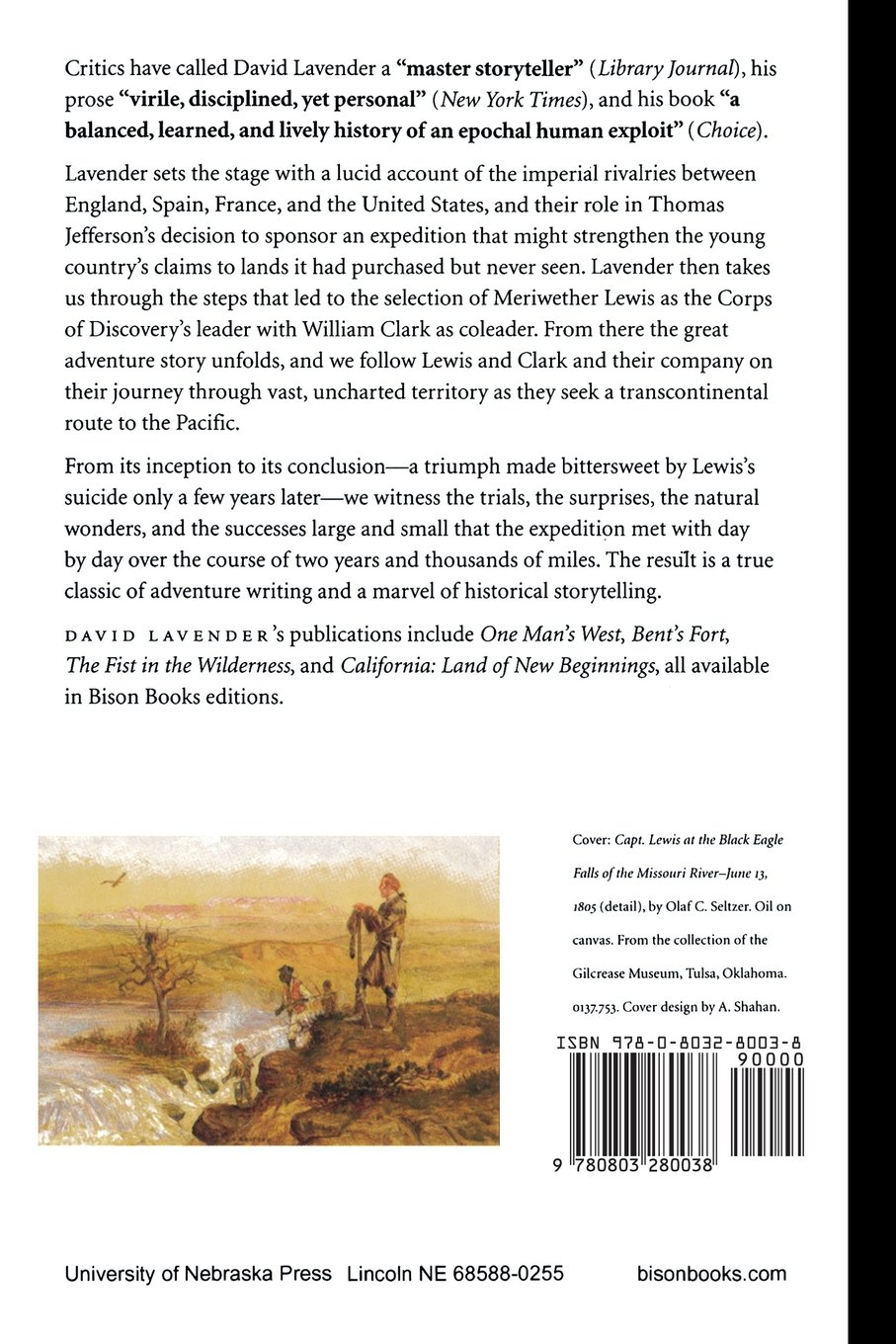 The Way to the Western Sea: Lewis and Clark across the Continent: David  Lavender: 9780803280038: Amazon.com: Books