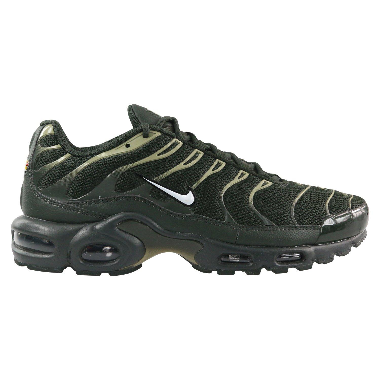 b1fe5cfb01bd Galleon - Nike Air Max Plus Lifestyle Fashion Sneakers Mens (9.5)