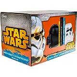 Official Star Wars Darth Vader & Stormtrooper Ceramic Bookends