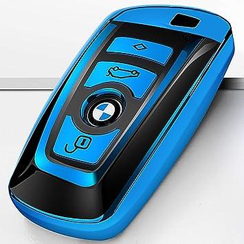 Amazon Com Intermerge For Bmw Key Fob Cover Soft Tpu Key Case