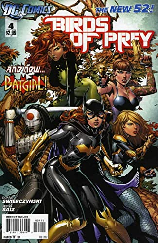 Amazon Com Birds Of Prey 3rd Series 4 Vf Dc Comic Book Entertainment Collectibles