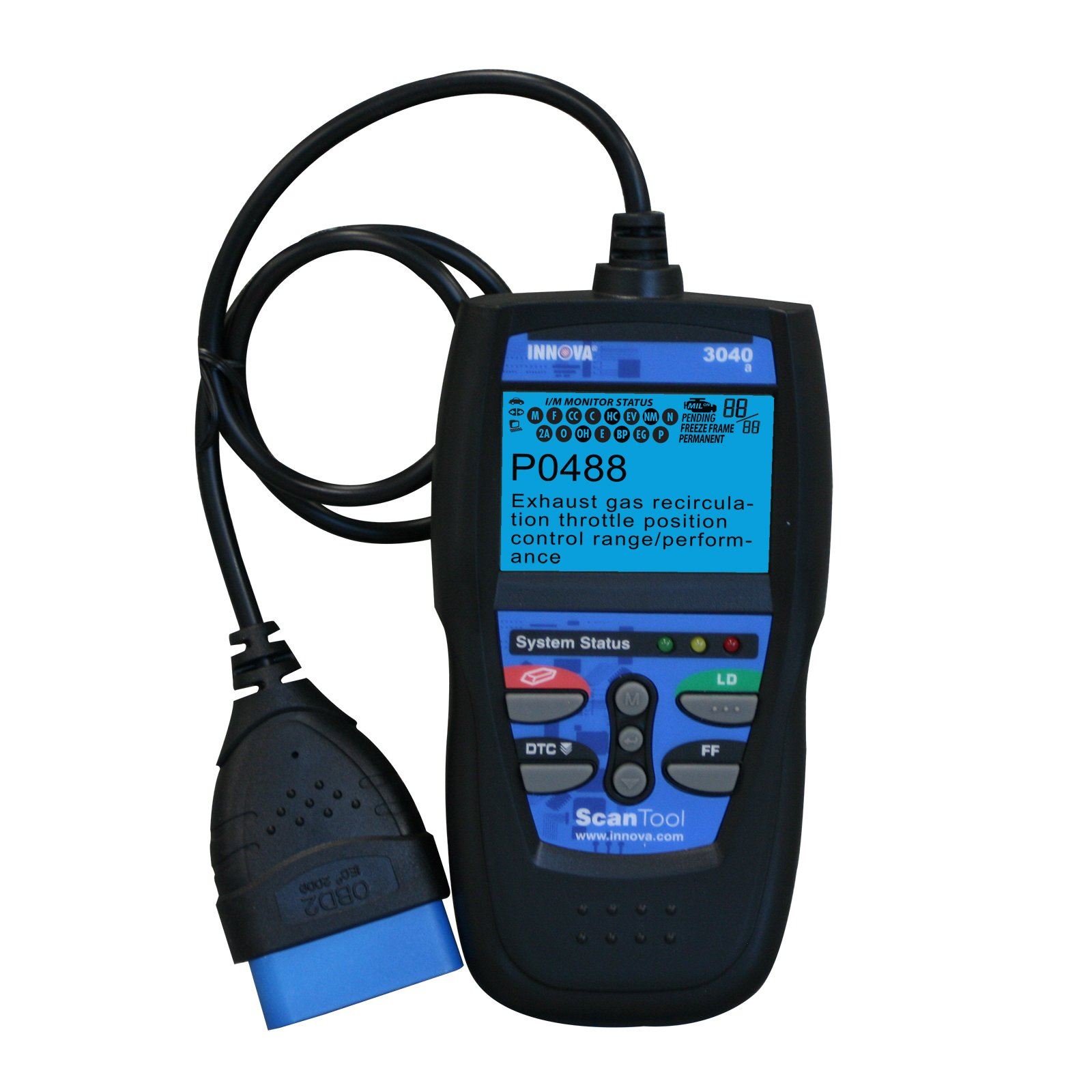 INNOVA 3040 Diagnostic Scan Tool/Code Reader with Live Data for OBD2 Vehicles