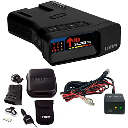 Amazon.com: Uniden R7 Long Range Radar Detector with Arrow Alert and Hardwire Kit Bundle: Automotive