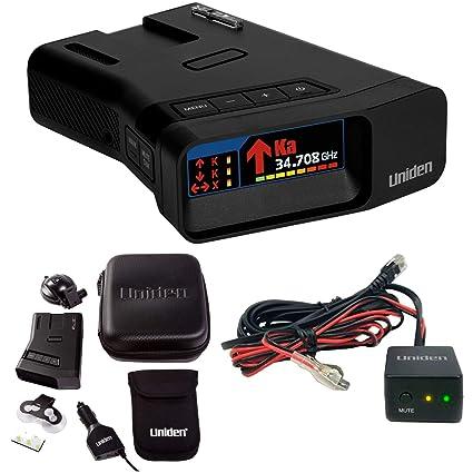 Amazon.com: Uniden R7 Long Range Radar Detector with Arrow Alert and Hardwire Kit Bundle: Automotive