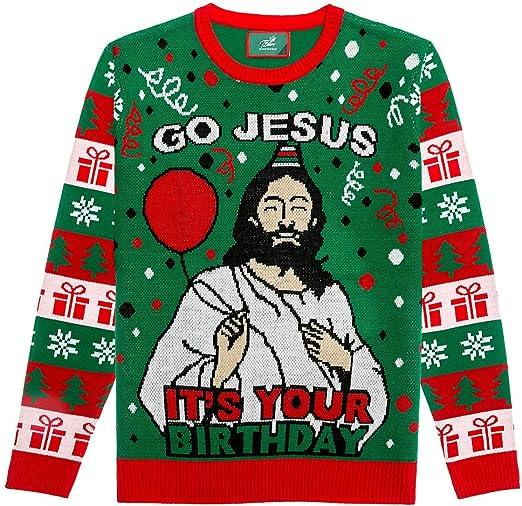 Jesus Birthday Boy Ugly Christmas Style Unisex Sweatshirt tee