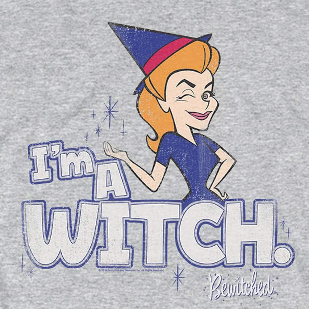 Amazon.com: Bewitched Wink Im a Witch - Camiseta de manga ...