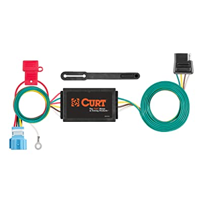 CURT 56382 Vehicle-Side Custom 4-Pin Trailer Wiring Harness for Select Honda Odyssey: Automotive