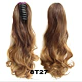 "Hair Long Wavy Ombre 20"" Clip On Hair Extensions"