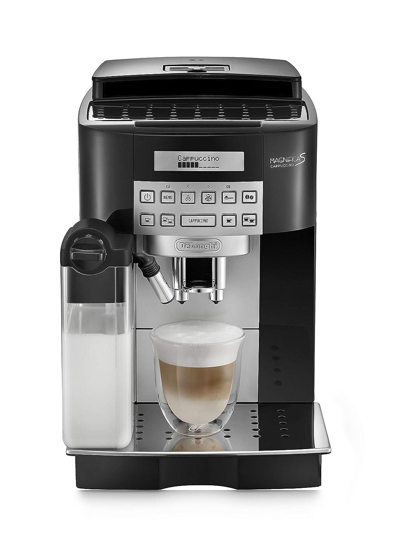 B - Cafetera superautomática, 15 bar de presión, capacidad 1,8l, limpieza automática, pantalla lcd, negro: Amazon.es: Hogar