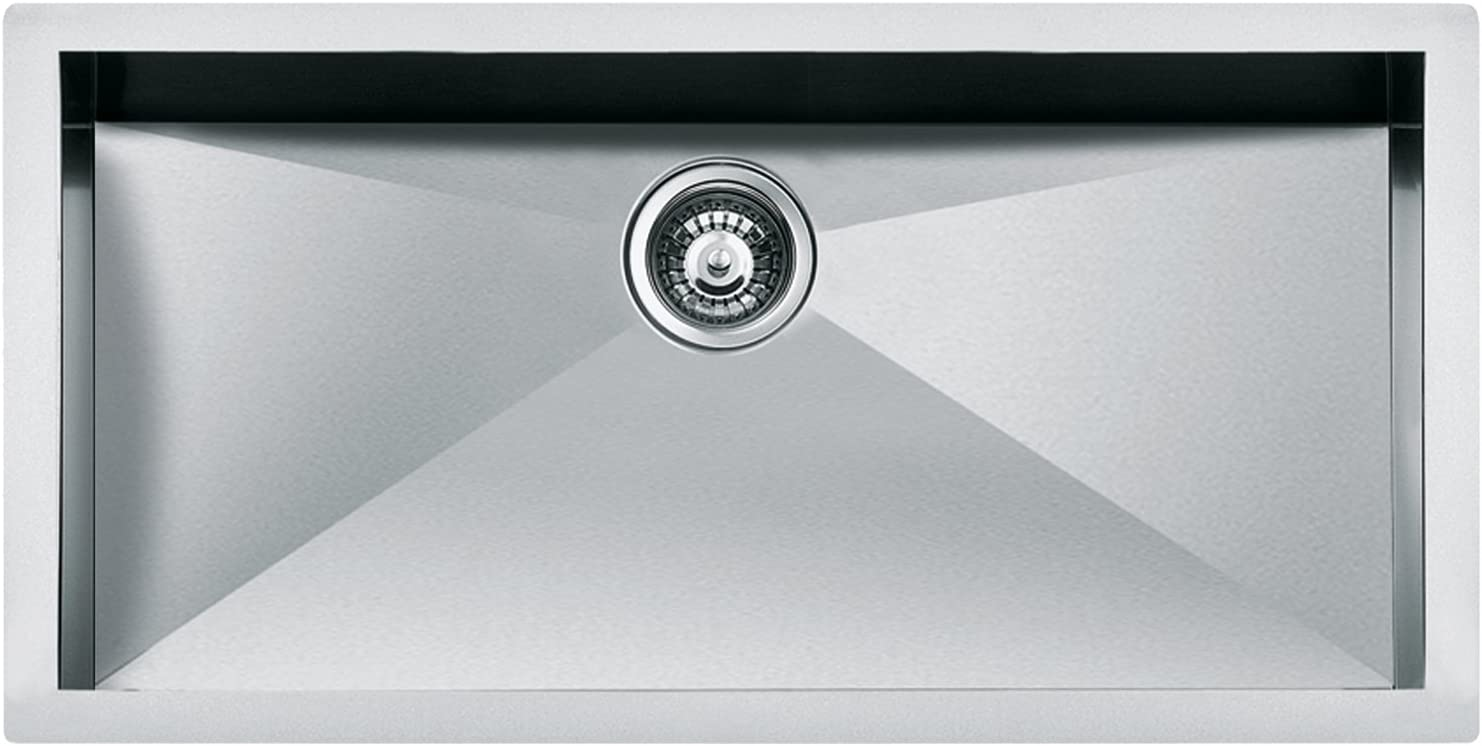 Nodor QUA 300 Lavabo sobre-encimera Rectangular Acero inoxidable Lavabo sobre-encimera, Rectangular, Acero inoxidable, Acero inoxidable, 1 senos, Rectangular Fregadero