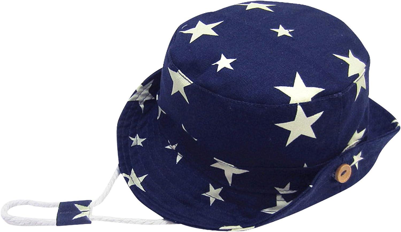 Denim Cappello da Sole per Bimbo e Bambini Bimba Cappello da Pescatore Estate Primavera Autunno 0-8anni