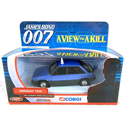 Corgi James Bond 007 A View to a Kill Renault Taxi 1/36th Scale Die Cast Car Ultimate Bond Collection: Toys & Games