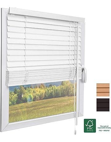Store v/énitien PVC 90X180 Effet bois