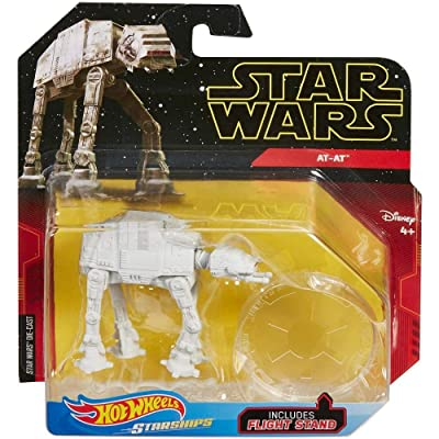 Hot Wheels Star Wars Starships Imperial at-at: Toys & Games