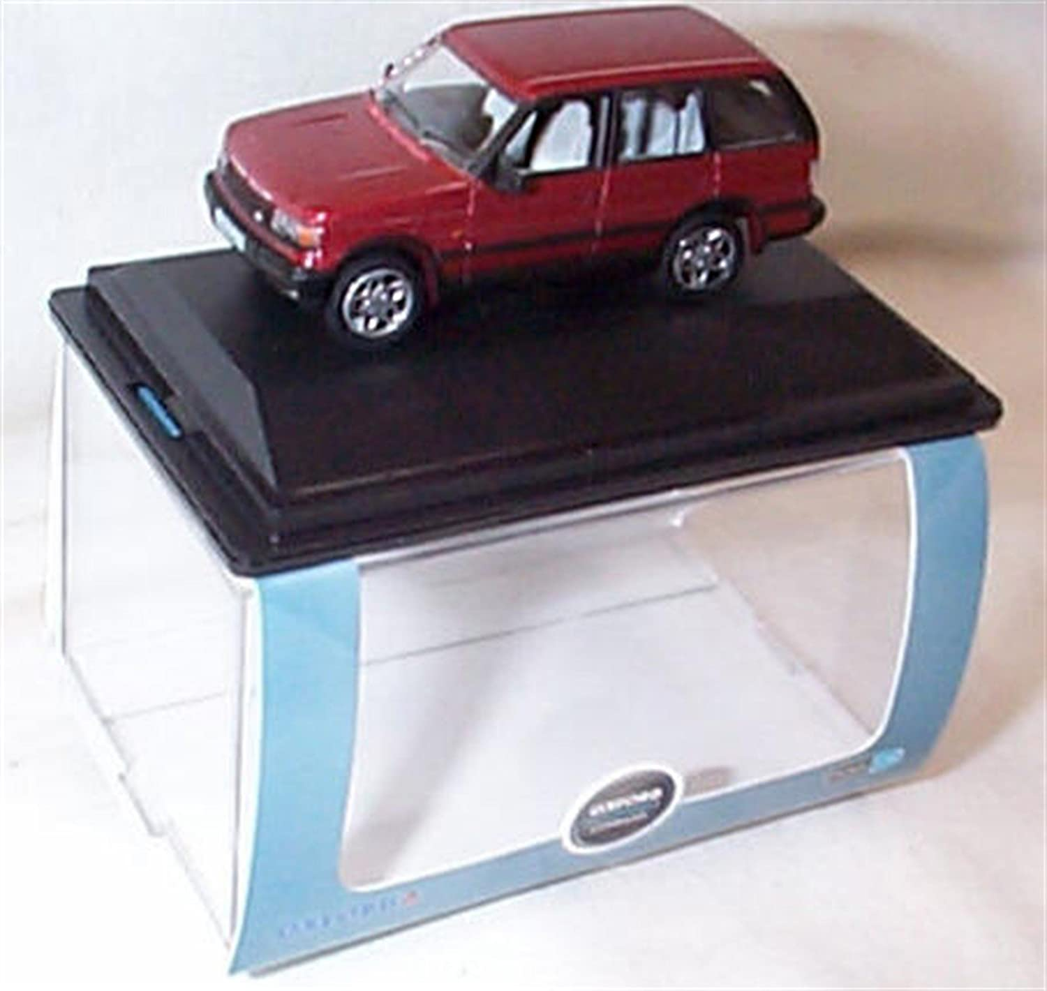 a3f7f3c0952e oxford range rover P38 rioja red car 1 76 railway scale diecast model   Amazon.co.uk  Toys   Games