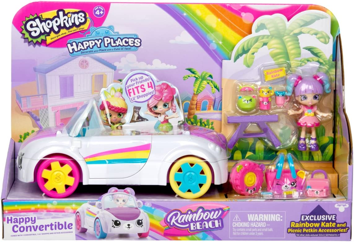Shopkins Happy Places Rainbow Beach Convertible
