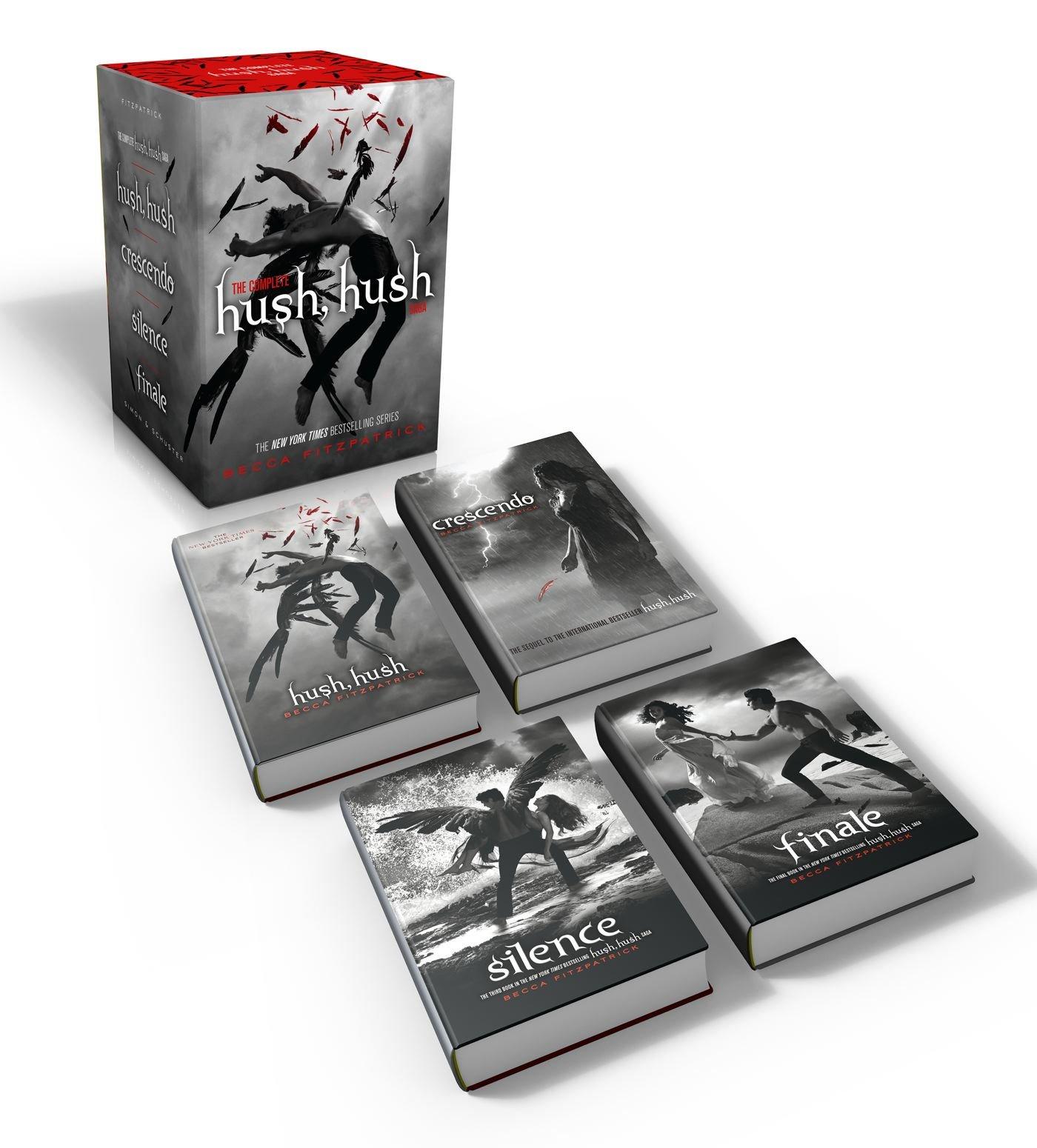The Complete Hush, Hush Saga: Hush, Hush/Crescendo/Silence/Finale ...