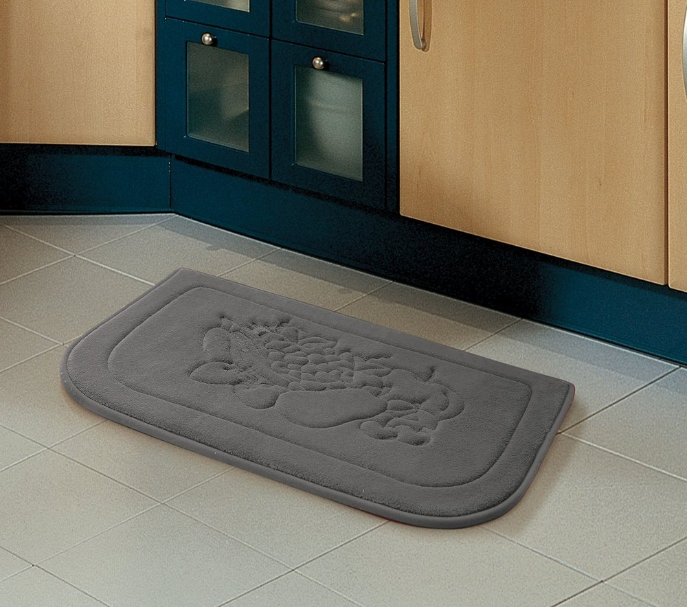 "Amazon.com: Victoria Classics Fruit Kitchen Memory Foam Rug, 18"" x ..."