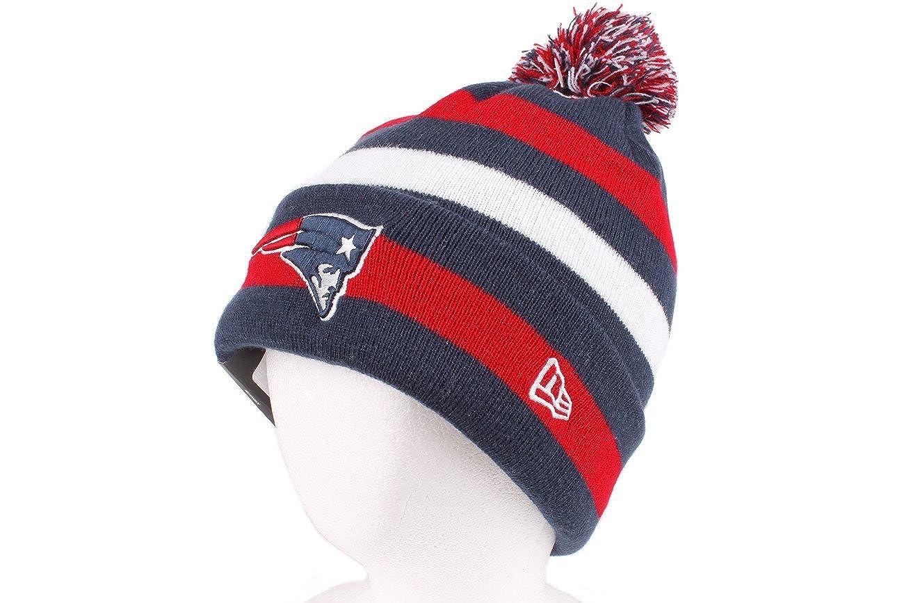 3d3ac9aa196 Amazon.com   NFL New England Patriots Sport Knit Hat   Sports Fan Beanies    Clothing