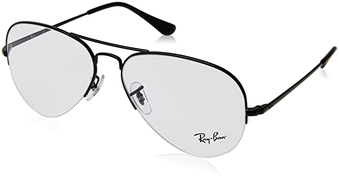 0253f6445e3 Ray-Ban RX6589 Glasses in Black RX6589 2509 59  Amazon.co.uk  Clothing