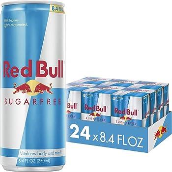 24-Pack Red Bull Sugar Free Energy Drink (8.4 Fl Oz)