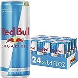 Red Bull Energy Drink Sugar Free, Sugarfree, 8.4 Fl Oz (24 Count)