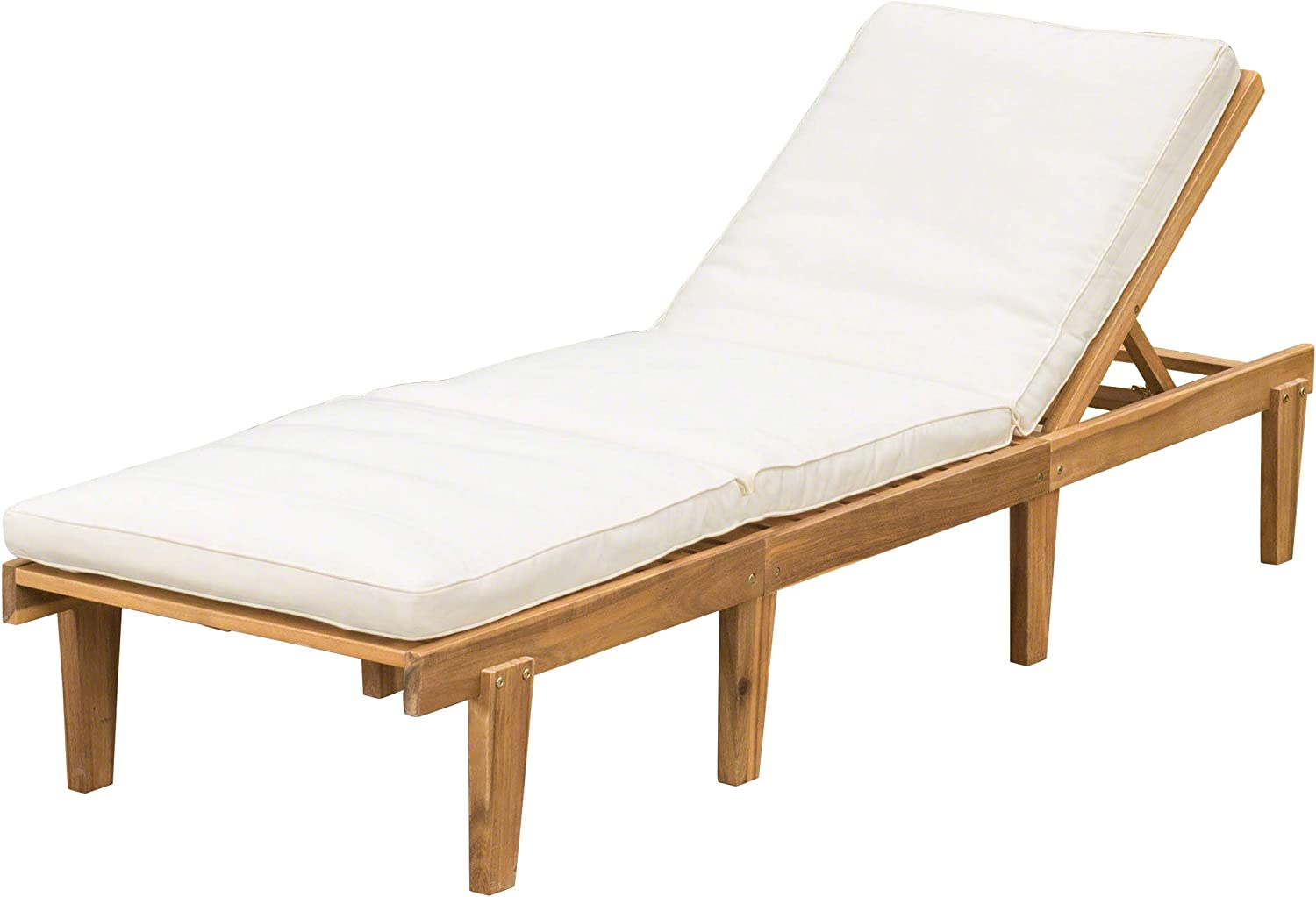 - Amazon.com: Christopher Knight Home Paolo Acacia Wood Chaise