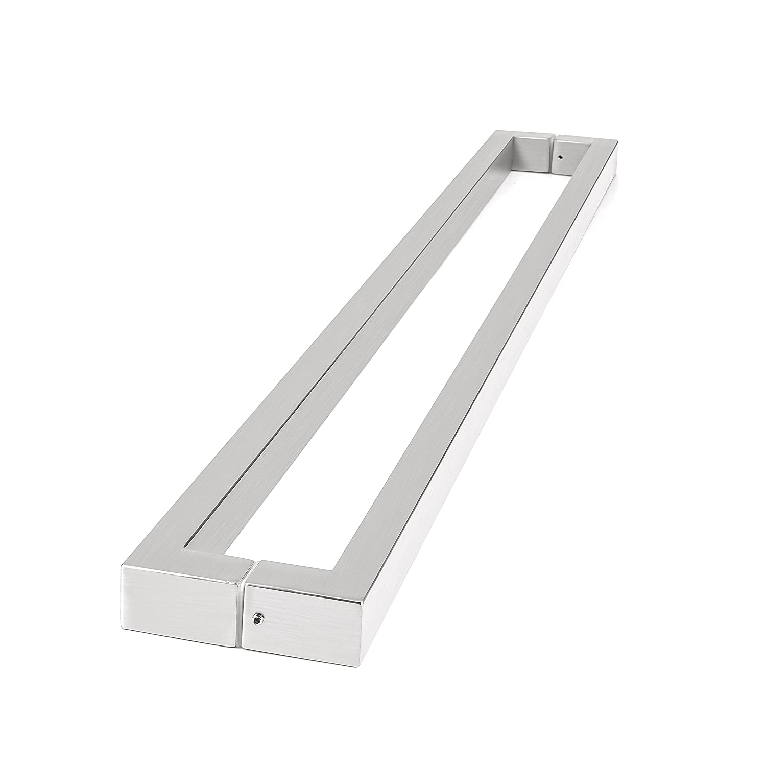 Amoylimai 36 Inches //900x25x38mm 166 Rectangular-shaped Modern Stainless Steel Sus304 Entrance Entry Commercial Office Store Front Wood Timber Glass Garage Aluminum Business Office Door Pull Push Handles Double-sided