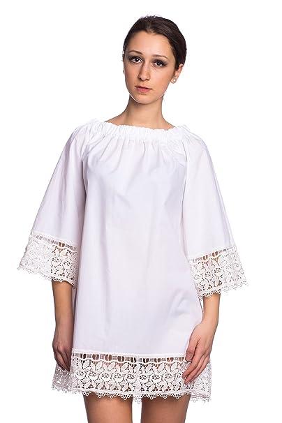 Abbino 887 Vestido para Mujer - Hecho en Italia - 3 Colores - Entretiempo Primavera Verano Otoño Elegante Formales Casual Vintage Oficina Fiesta Fashion ...
