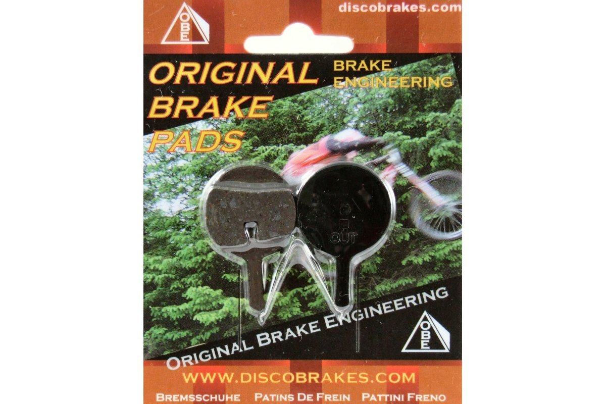 HEL Performance Organic Disc Brake Pads For AVID BB5 MECHANICAL