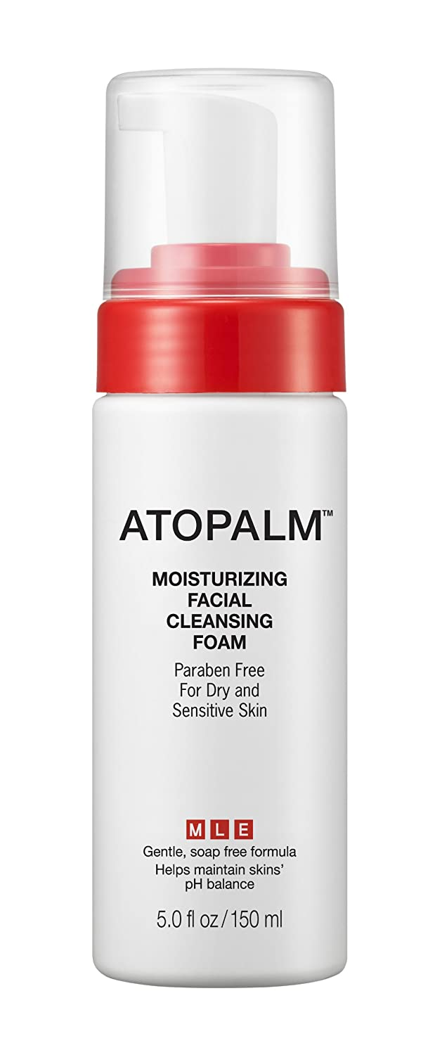 Atopalm Moisturizing Facial Cleansing Foam, 5.0-Ounces