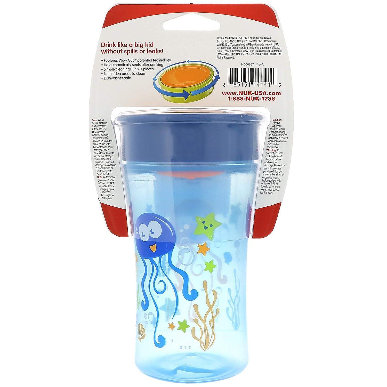 amazon com nuk magic 360 sippy cup blue 10oz 1pk styles may