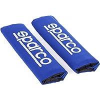 Sparco SPC1204BL Almohadilla, Azul, Set de 2