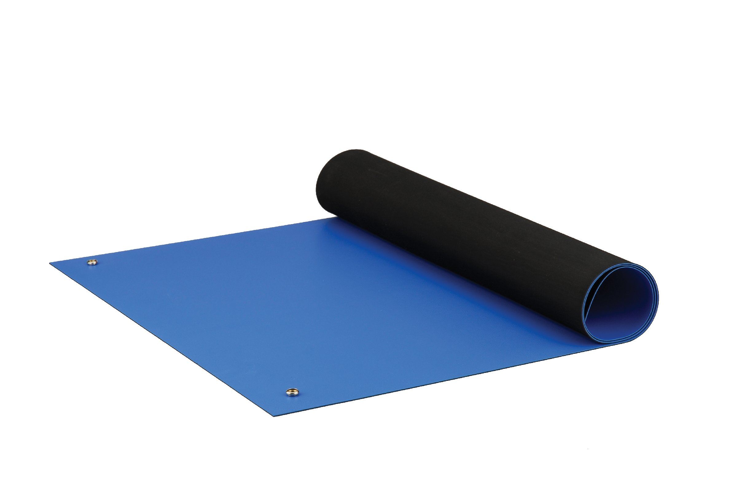 ACL Staticide 8285RBM2460 Dualmat ESD Table Mat, 60'' Length x 24'' Width, Royal Blue by ACL Staticide