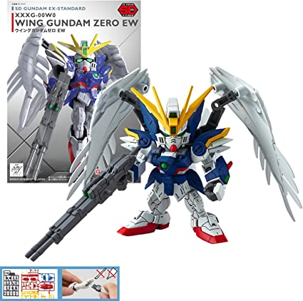 SD Gundam Wing Gundam Zero Custom 1//144 scale model