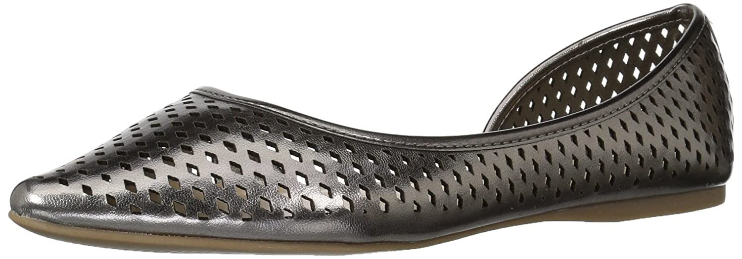 Callisto Women's Swiftye Pointed Toe Flat B06XTD7SNT 5.5 B(M) US|Pewter